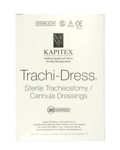 Trachi-Dress splitkompress 10x8,2cm 20stk