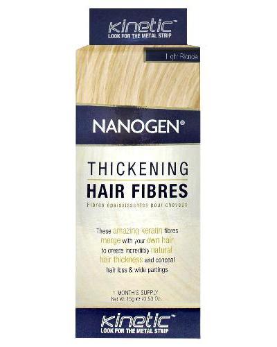 Nanogen Keratin hårfibre lys blond 15g