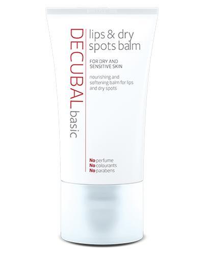 decubal lips dry spots balm