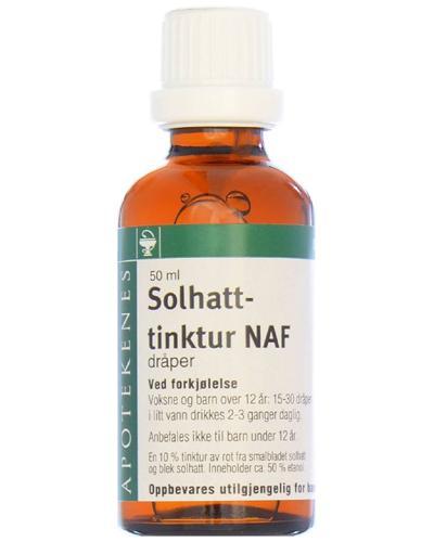 Solhattinktur NAF dråper 50ml