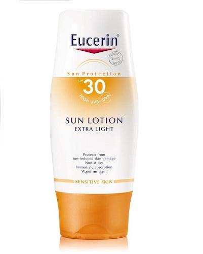 Eucerin Sun extra light sollotion SPF30 150ml