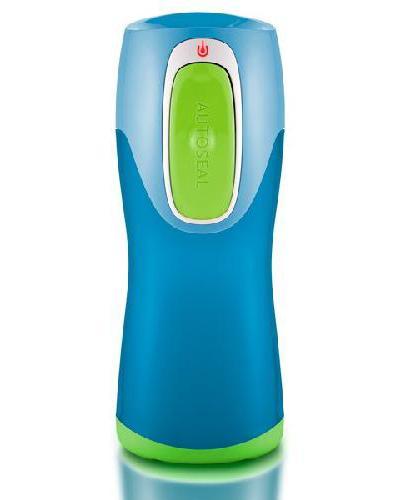 Contigo Kids drikkeflaske 270ml blå/grønn 1stk