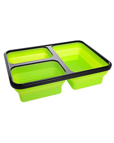 Matboks i silikon grønn 1stk
