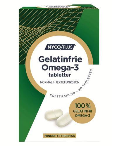 Nycoplus Omega-3 gelatinfrie tabletter 60stk