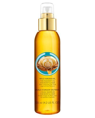 The Body Shop Wild Argan Oil radiant olje 125ml