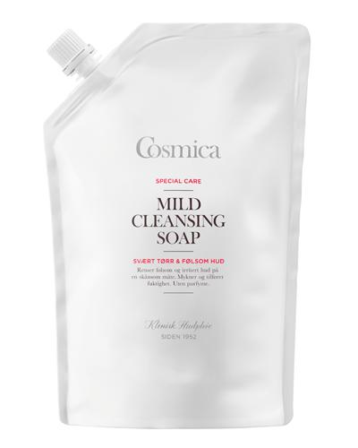 Cosmica Special Care mild cleansing såpe refill 600ml