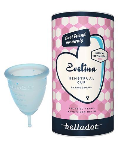 Belladot Evelina menstruasjonskopp L/plus 1stk
