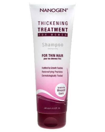 Nanogen Thickening Treatment sjampo for kvinner 240ml