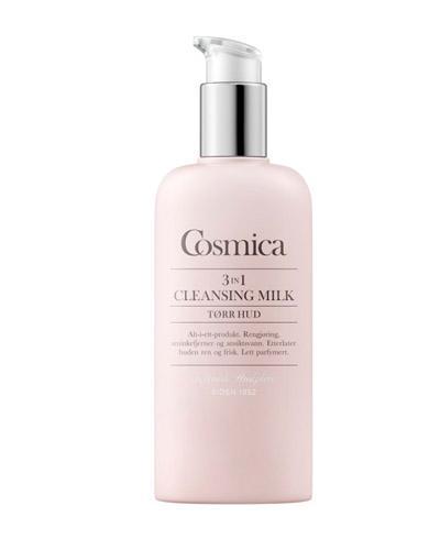 Cosmica Face 3-in-1 softening rensemelk tørr hud 200ml
