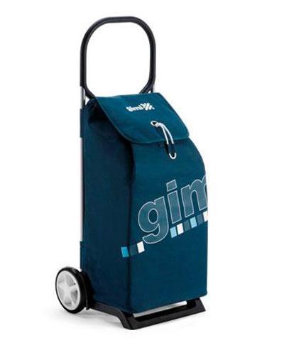 Gimi italo trillebag blå 52 liter 1stk