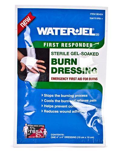 Water-Jel brannbandasje 10x10cm 1stk