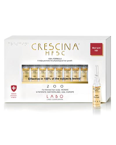 Crescina Re-Growth 200 kvinne 10x3,5ml