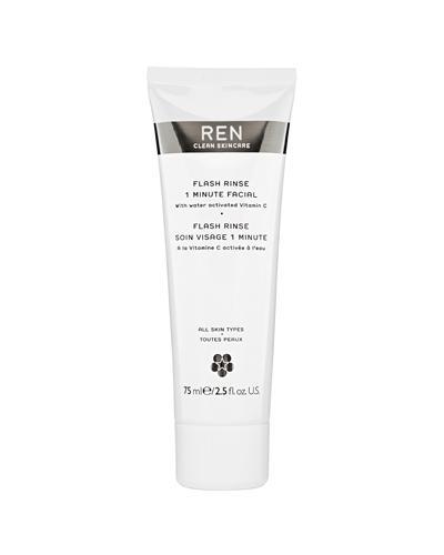REN Flash Rinse 1 minute facial ansiktsmaske 75ml