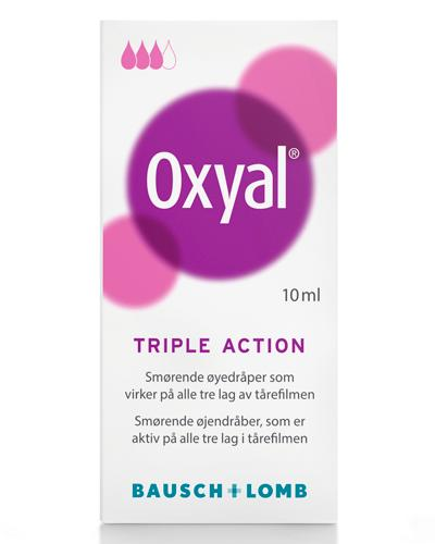 Oxyal Triple Action øyedråper 10ml