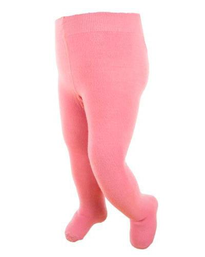 WE strømpebukse ull rosa str 1-2år 1stk