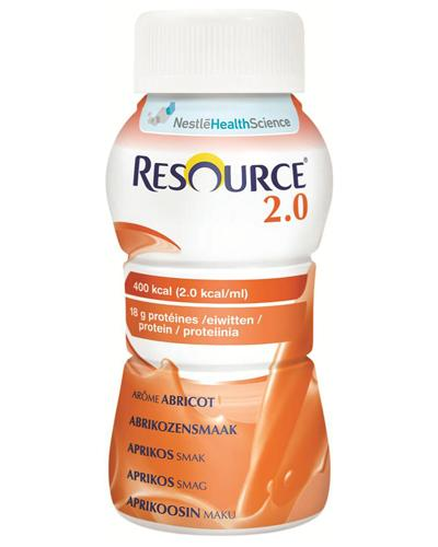 Resource 2.0 næringsdrikk aprikos 4x200ml