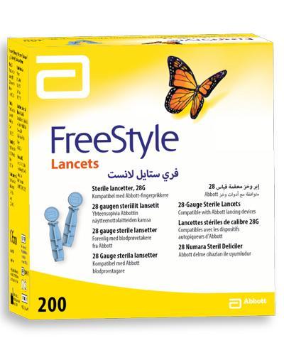 Freestyle lansetter 28G 200stk