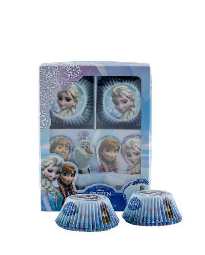 Cupcakes muffinsformsett med Frost-motiv 1sett