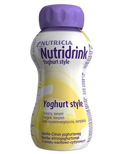Nutridrink Yoghurt style vanilje/sitron 4x200ml