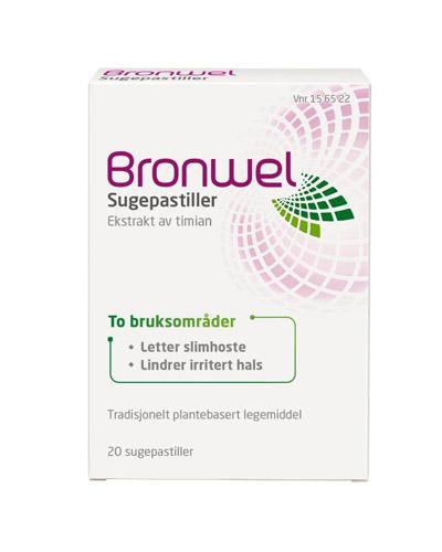 Bronwel sugepastiller 20stk