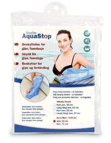Aquastop dusjbeskytter barn arm 1stk