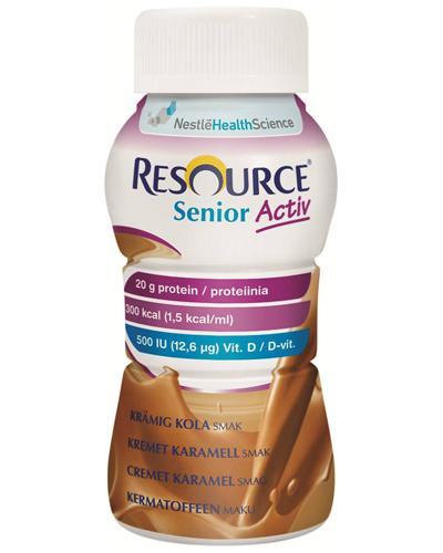 Resource Senior Activ næringsdrikk karamell 4x200ml