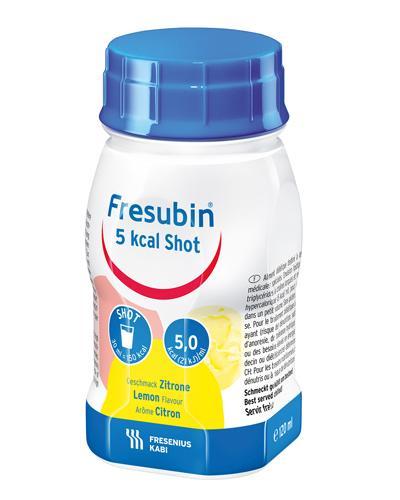 Fresubin 5 kcal Shot fettemulsjon sitron 4x120ml