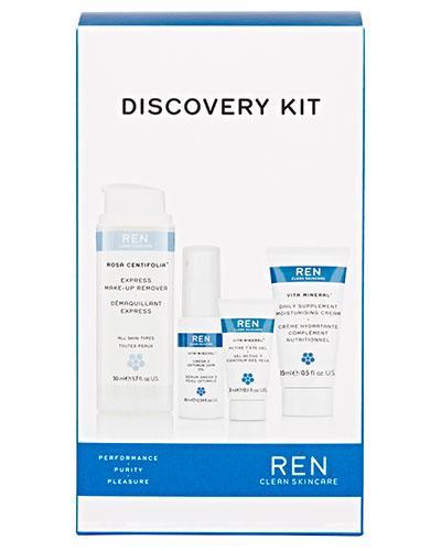 REN discovery kit hudpleiesett 3+10+15+50ml