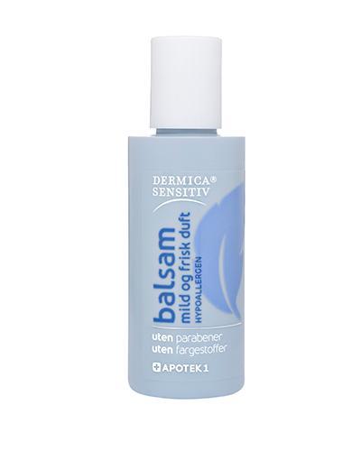 Dermica Sensitiv balsam med mild og frisk duft 75ml