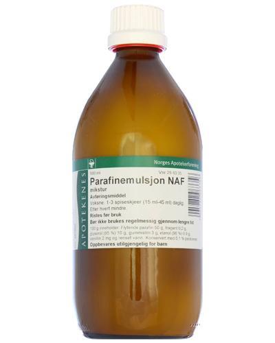 Parafinemulsjon NAF mikstur 500ml
