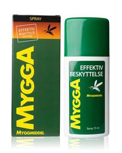 Mygga spray 9,5 % DEET 75ml