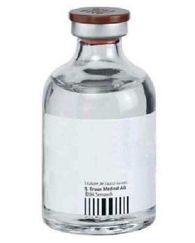 Sterilt vann B.Braun parenteral bruk hetteglass 20x50ml