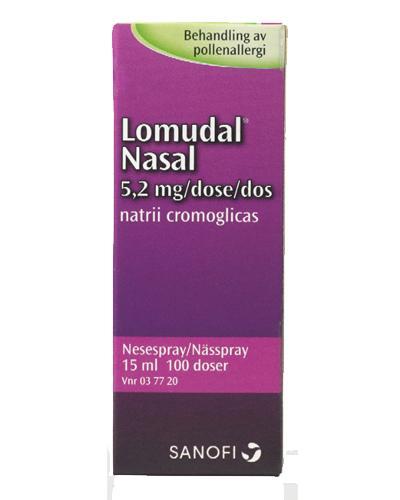 Lomudal 5,2mg/dose nesespray 15ml
