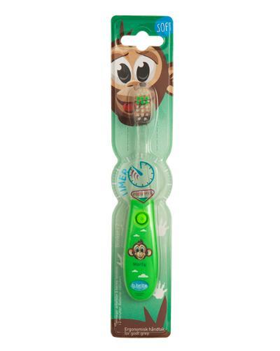 Tannbørste blinkende ape 1stk