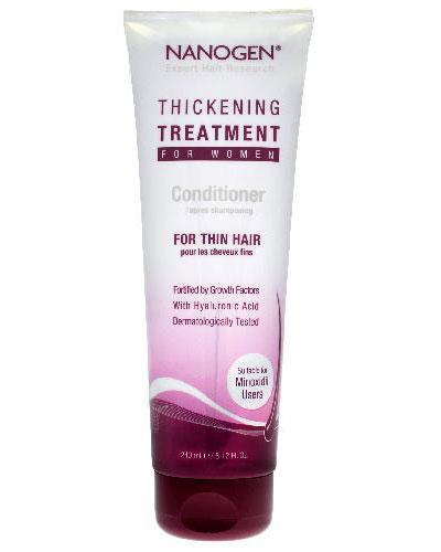 Nanogen Thickening Treatment balsam for kvinner 240ml