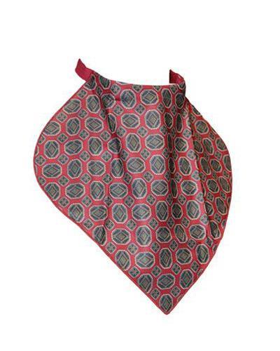 Deltanex halstørkle mønstret rød 1stk