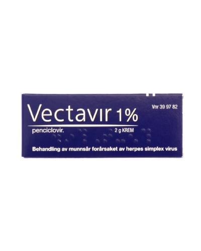 Vectavir 1% krem 2g