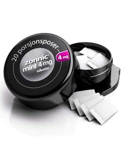 Zonnic 4mg munnpulver i porsjonspose mintsmak 20Stk