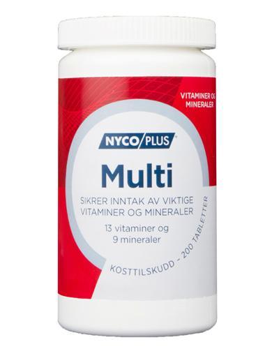Nycoplus Multi tabletter 200stk