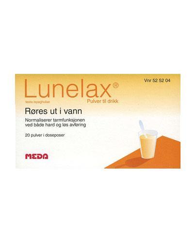Lunelax pulver i dosepose 20x4g