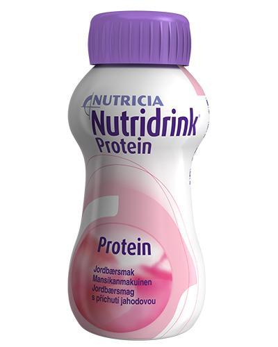 Nutridrink Protein jordbær 4x200ml