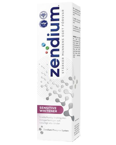Zendium Sensitive Whitener tannkrem 75ml