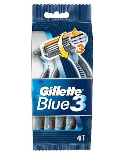 Gillette Blue III engangshøvel 4stk