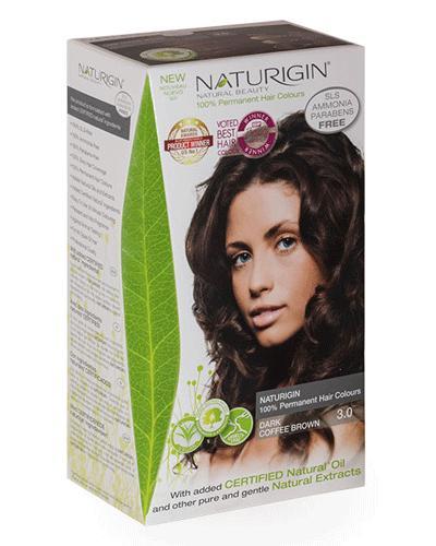 Naturigin hårfarge 3.0 brown dark coffee 1stk