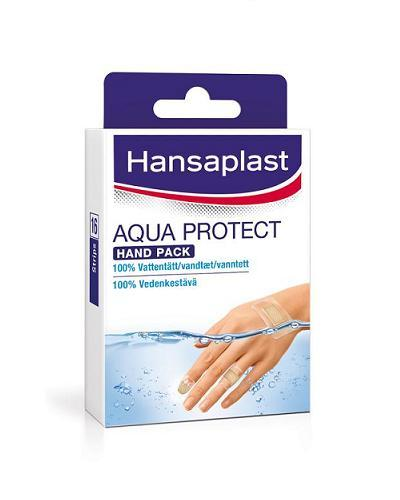 Hansaplast aqua protect plaster hånd 16stk