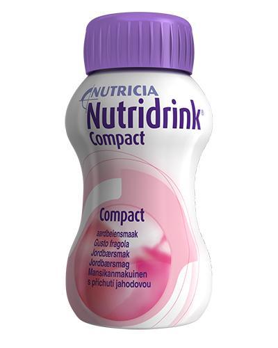 Nutridrink Compact næringsdrikk jordbær 4x125ml