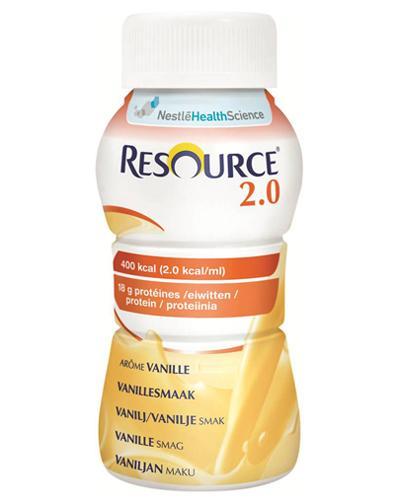 Resource 2.0 næringsdrikk vanilje 4x200ml