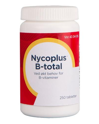 Nycoplus B-total tabletter 250stk