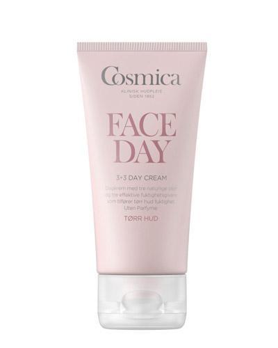 Cosmica Face 3+3 dagkrem tørr hud 50ml