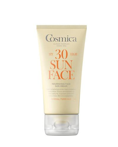 Cosmica Face nourishing solkrem SPF30 normal/tørr 50ml